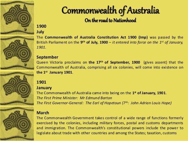 australian-constitution-timeline